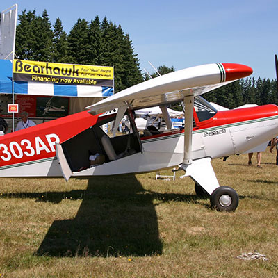 Bearhawk 4-place plane